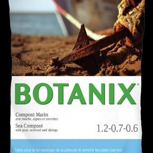 Compost avec tourbe, algues et crevettes 30 L,  Botanix