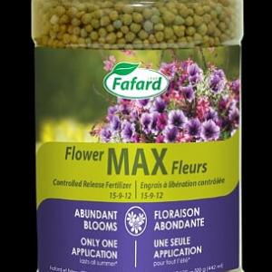 Engrais à libération controlée Max Fleurs (15-9-12), 1.5Kg