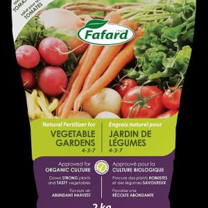 Engrais naturel Jardin de légumes (4-3-7), 2Kg