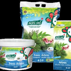 Arbres, arbustes,haies et conifères (4-3-9), 8kg