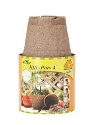Jiffy-Pots 4 pouces, pqt 6