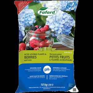 Terreau pour petits fruits et plantes acidophiles